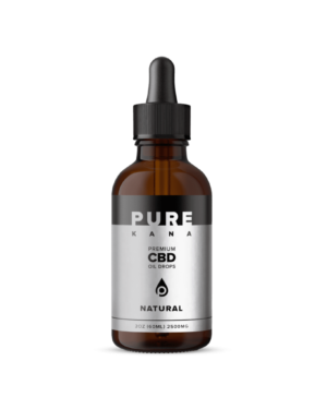 Natural CBD Oil 2500mg
