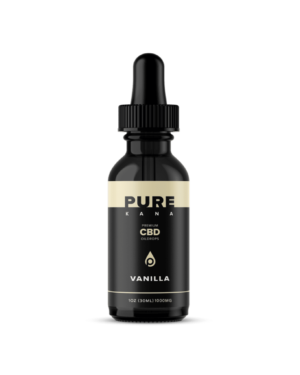 Vanilla CBD Oil 1000mg