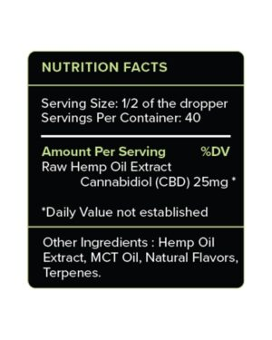 Mint CBD Oil 1000mg