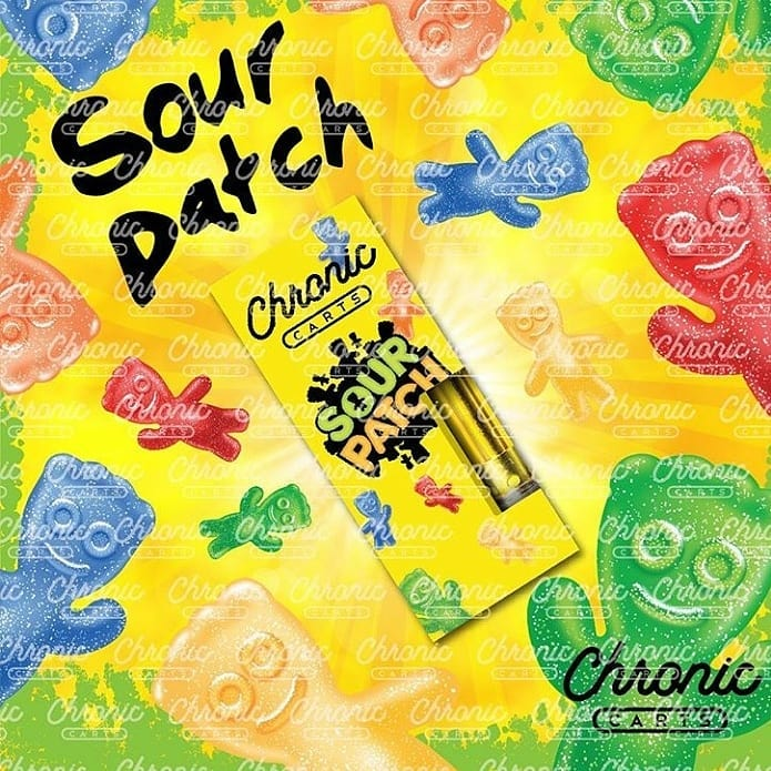 Buy Sour Patch Chronic Carts